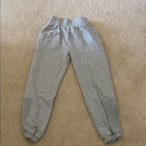 free people gray sweatpants joggers